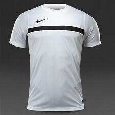NIKE DRI-FIT ACADEMY SS TRAINING TOP ATHLETIC SHIRT 651379-100 WHITE/BLACK NEW