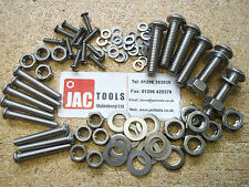 A2 Stainless Steel Button Head Screw Allen Socket Bolts C/W Nuts & Washers ST/ST