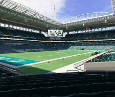 1-4 Tickets NEW ENGLAND PATRIOTS vs. Miami Dolphins 2017 Season SEC: 126 ROW: 11