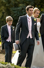 MEN'S EX HIRE CHARCOAL GREY CLASSIC MORNING SUIT TAIL JACKET FOR ASCOT/ WEDDING