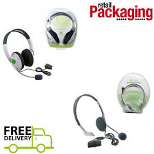 Xbox 360 Headset Headsets Headphone Microphone Gaming Microsoft Beach Live NEW