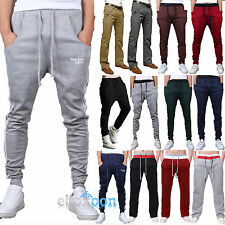 Mens Casual Harem Pants Training Running Sports Baggy Cycling Trousers Fitness