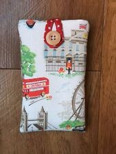 iPhone 6s / 6s Plus Fabric Padded Case Made With Cath Kidston White London Scene