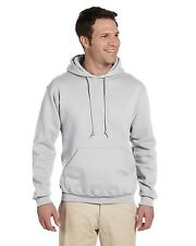 Jerzees Hoodie Sweatshirt Men's 9.5 oz Super Sweats 50/50 Pullover 4997 NEW