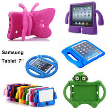 7 Tablet Cover Kids ShockProof Handle stand Case for Samsung Galaxy Tab 3 4 Lite