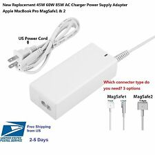 85W L or T or T2.0 Charger Power Supply Adapter for Apple MacBook Pro 13' 15' 17
