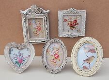 Victorian Style Vintage Photo Frame Picture Shabby Chic Antique Floral Cream