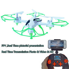 FPV Wifi Remote Control Drone LED Camera RC Quadcopter Toy Helicoptero Airplane