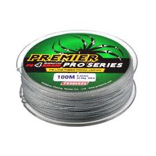 MagiDeal 100m Super Strong PE Braided Lines Saltwater Sea Fishing Line 15lb-80lb