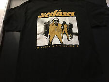 Vintage Saliva Every Six Seconds Tour black T-Shirt XL 2000's Used