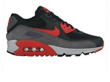 NIKE AIR MAX 90 ESSENTIAL SIZE 4 37.5 BLACK/RED 1 95 BW BOYS GIRLS TRAINERS FREE