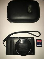 Sony Cyber-shot DSC-HX50 20.4 MP Digital Camera - Black