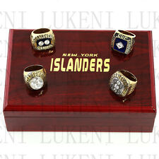4pcs 1980 1981 1982 1983 New York Islanders Stanley Cup Championship Copper Ring