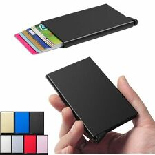Men Women Aluminum Slim ID Credit Card RFID Protector Holder Purse Wallet tr88