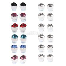 12 Pairs Mixed Color Magnetized Earring Crystal Magnet Earring Fancy Ornaments