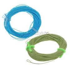 MagiDeal 100FT Weight Forward Floating Line Trout Fly Fishing Line WF6F 2 Colors