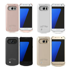 New 4200Mah External Battery Charger Case Cover Power Bank For Samsung Galaxy S7