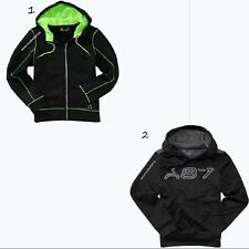 AEROPOSTALE NEW MENS PULL OVER & FULL ZIP HOODIE,NWT,SMALL POCKET AUDIO DEVICE.