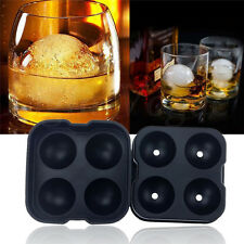 Whiskey Silicon Ice Cube Ball Maker Mold Sphere Mould Party Tray Round Bar SS