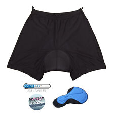 SPEG Mens Inner Mesh Cycle Cycling Shorts with CoolMax Chamois Pad