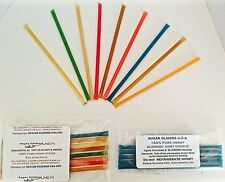 SUGAR GLIDER HONEY STIX IN 6 PACK / SUPER SAVER 48  PACK- 3 SIZES! 3 NEW FLAVORS
