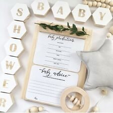 Baby Shower Game Cards - Gender Prediction Cards - Wishes for Baby - Baby Predic