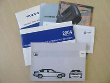 2004 Volvo S80 Owner's Manual