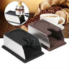 Portable Stainless Steel Espresso Coffee Tamper Holder Stand Tool Accessory
