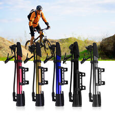 Inflator Bike Pump Aluminum Alloy Mini Portable Cycling Bicycle Tire Pump F7