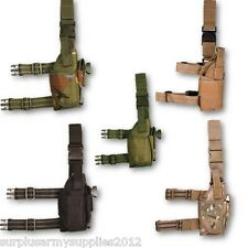 US ASSAULT LEG PISTOL HOLSTER TACTICAL GUN HOLDER POUCH BELT MILITARY HUNTING