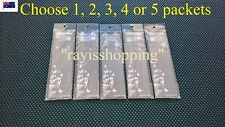 Choose 1, 2, 3, 4 or 5 Packets, Clear Transparent Invisible Bra Brassiere Straps