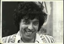 1979 Press Photo Playwright Tom Stoppard at New York's Lincoln Center