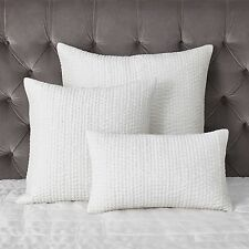 The White Company Carrington Silk Rectangle Cushion Cover 30 x 50cm 1 2 or 4 NWT