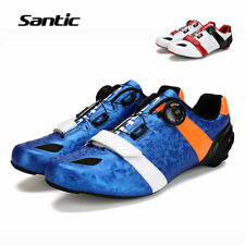 Santic Road Cycling Shoes Ultralight Carbon Fiber Bike Shoes Bicycle Sneakers