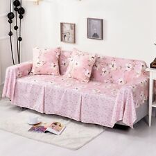 Floral Cotton Blend Slipcover Sofa Cover oAUl Protector for 1 2 3 4 seater mshkf