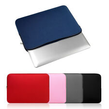 Portable Size Solid Color Soft Sleeve Laptop Bag Laptop Protective Case Cover SK