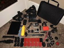 GoPro 3+ Plus Silver Edition Camcorder CHDHN-302 Hero + Lots of Extras (3PS40)