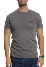 Superdry T-Shirt Men SUPERDRY LA SS PKT Dove Grey