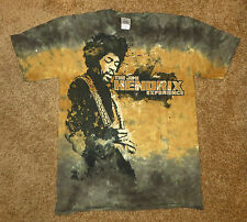 The Jimi Hendrix Experience Graphic Tie Dye Mens T Shirt NEW  Rock  Music Brown