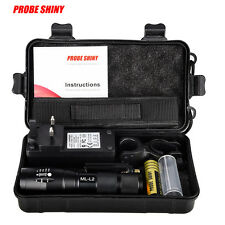 X800 Shadowhawk 6000lm Tactical Flashlight L2 LED Military Lamps Torch Gift Kit