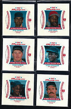 1987 MSA Jiffy Pop Disc Perforated SQUARE PROOF VERSION ** Pick Your Player **