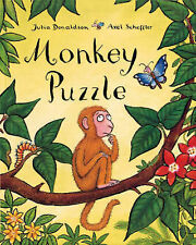 Monkey Puzzle Main Market Edtion Paperback Book for Kids 3-7 by Julia Donaldson