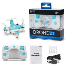 DHD-D1 Mini RC Drone Quadcopter Remote Control Helicopter Aircraft Plane Kid Toy