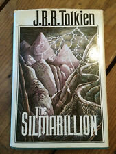 The Silmarillion by J. R. R. Tolkien 1977 First American Edition W/map and DJ