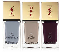 YSL LA LAQUE COUTURE NAIL LACQUER - NAIL POLISH - CHOOSE YOUR SHADE