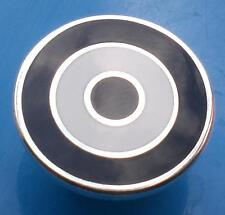 MOD TARGET BADGE - IN NEWCASTLE UNITED COLOURS - 12MM 16MM 20MM DIA