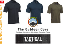 UNDER ARMOUR UA Tactical Charged Cotton Polo Shirt Mens ALL COLORS/SIZES S-XL3