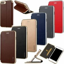 Ultra-Thin Flip PU Leather Wallet Stand Case Cover For Apple iPhone 6 6s 7 Plus