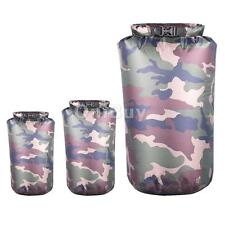 Waterproof Bag Dry Sack Pouch for Canoe Kayak Boating Rafting Sports Green Camo