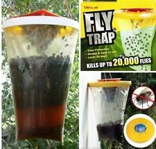 TOP RED DROSOPHILA FLY TRAP CATCHERS THE ULTIMATE FLY CATCHER INSECT TRAP